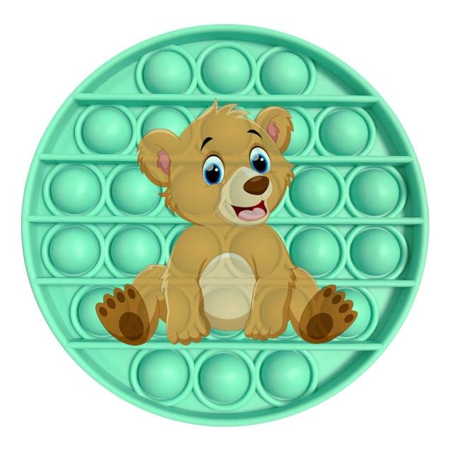 pop it bear image fidget toy 3141 - Wacky Track