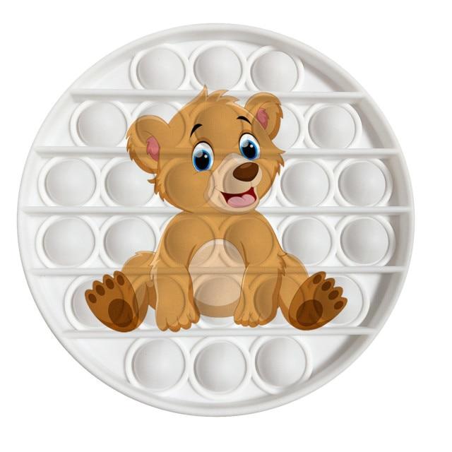 pop it bear image fidget toy 4689 - Wacky Track