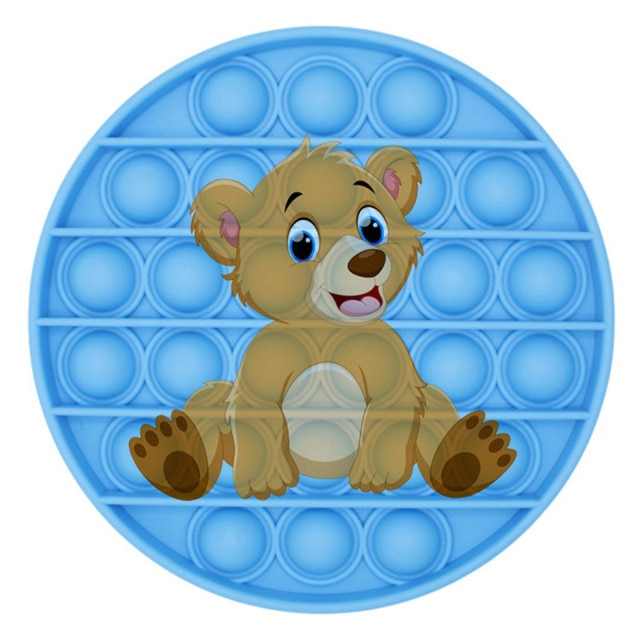 pop it bear image fidget toy 6675 - Wacky Track