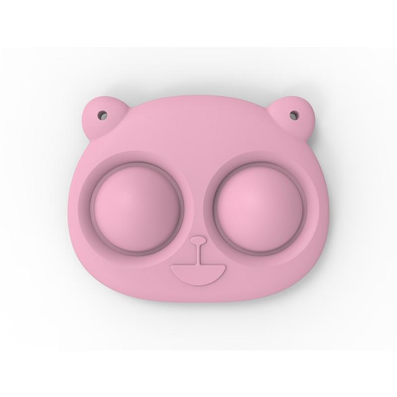pop it bear keychain fidget toy 3999 - Wacky Track
