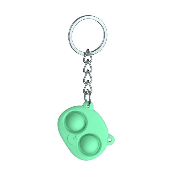 pop it bear keychain fidget toy 4567 - Wacky Track