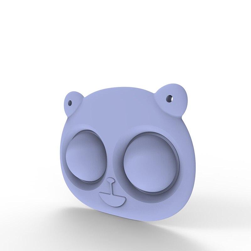 pop it bear keychain fidget toy 5332 - Wacky Track