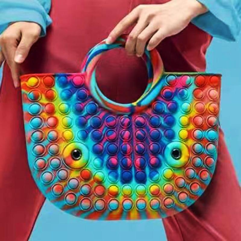 pop it beautiful bag fidget toy 8167 - Wacky Track