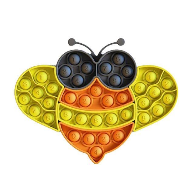 pop it bee fidget toy 8221 - Wacky Track