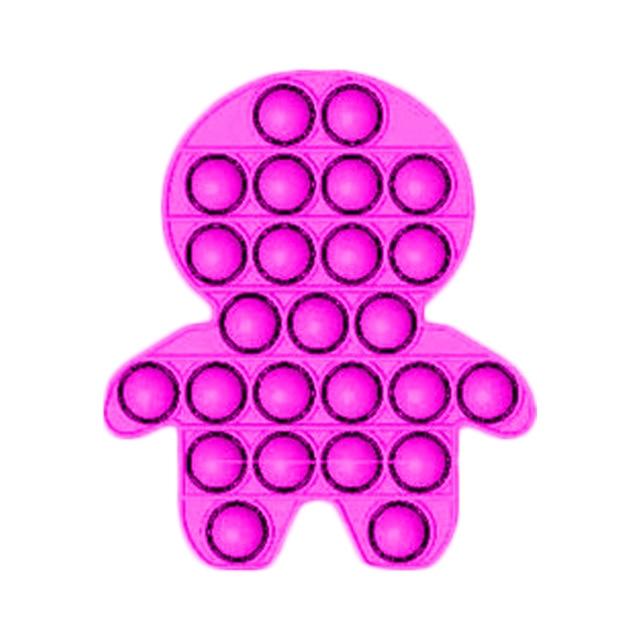 pop it boy shape fidget toys 3421 - Wacky Track