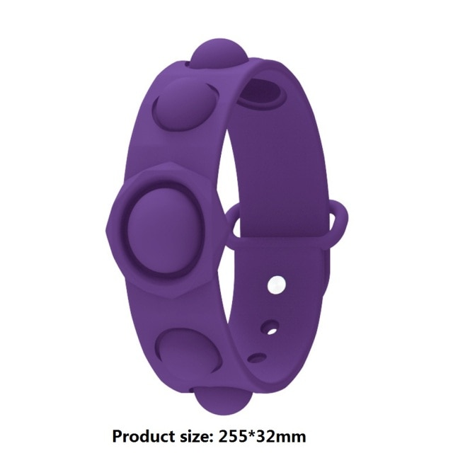 pop it bracelet fidget toys 1615 - Wacky Track
