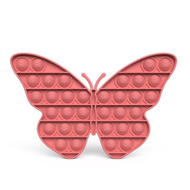 pop it butterfly anti stress fidget toy 4862 - Wacky Track