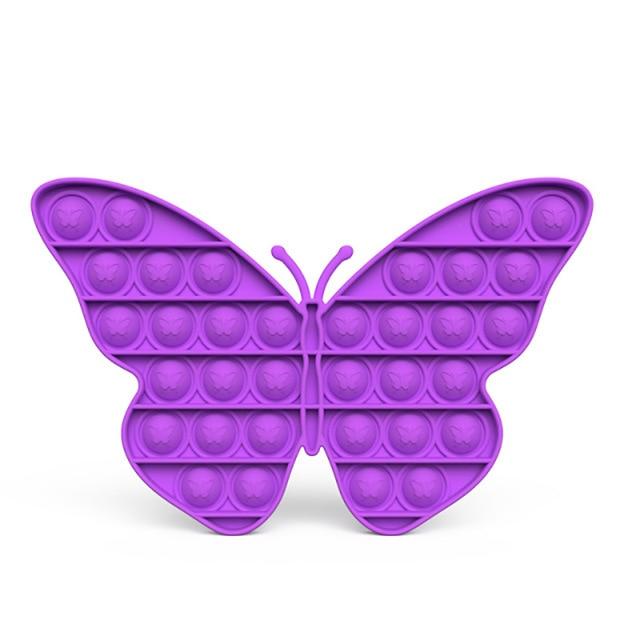 pop it butterfly anti stress fidget toy 8845 - Wacky Track