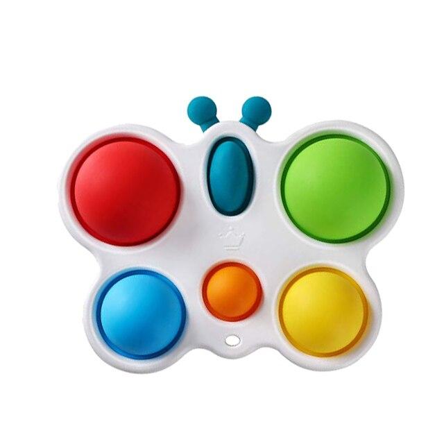 pop it butterfly fidget toy 1318 - Wacky Track