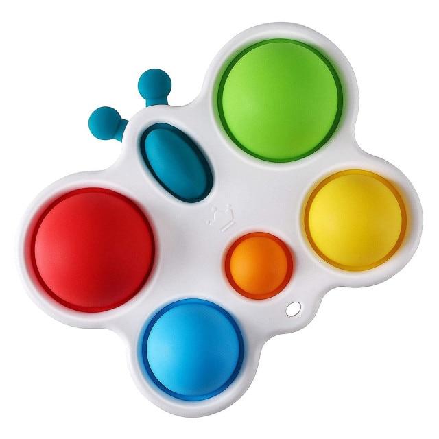 pop it butterfly fidget toy 3984 - Wacky Track