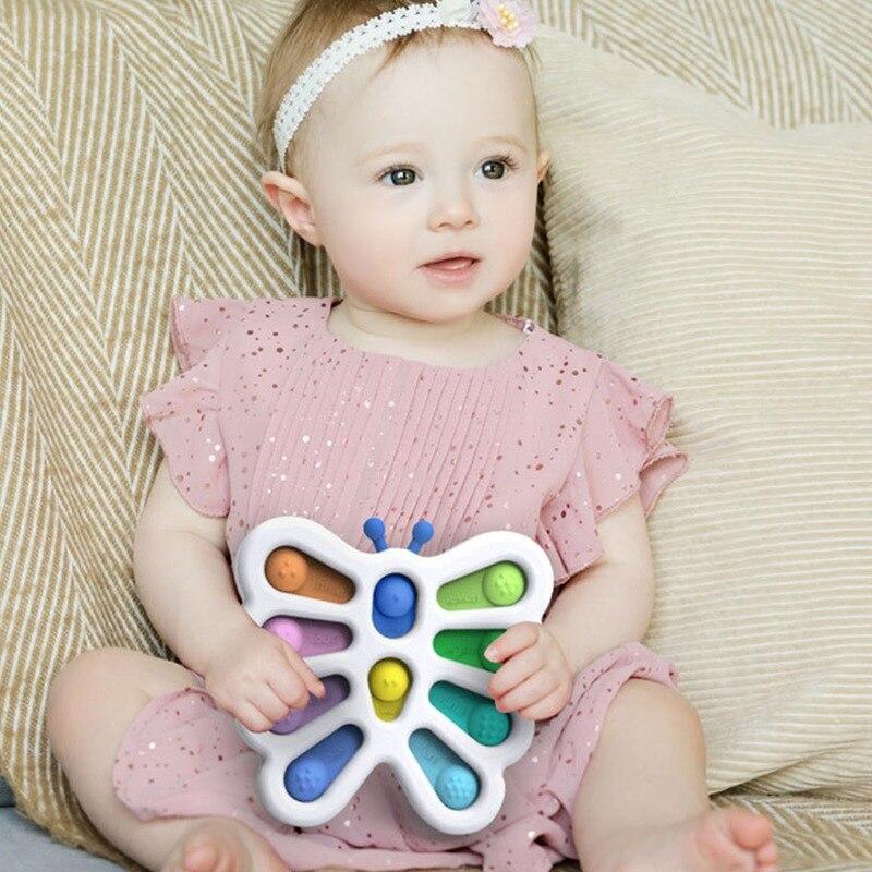 pop it butterfly fidget toy 5144 - Wacky Track
