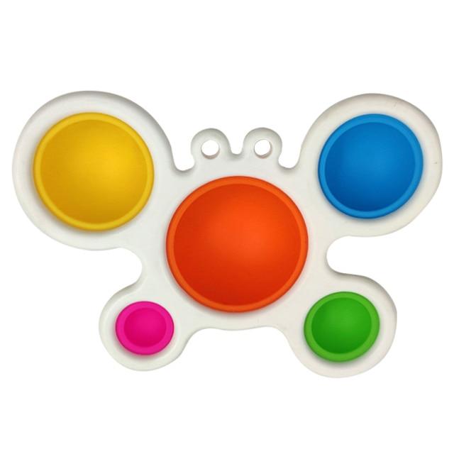 pop it butterfly fidget toy 5664 - Wacky Track