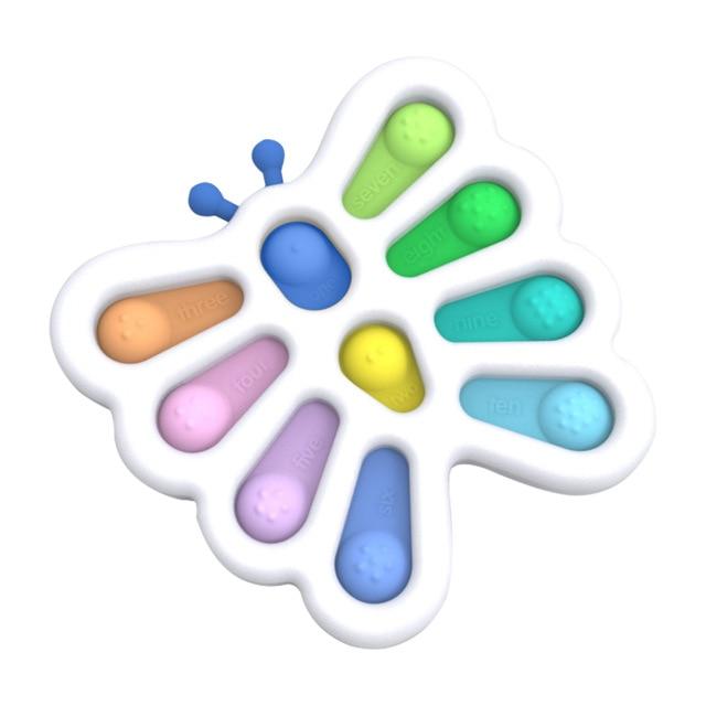pop it butterfly fidget toy 5834 - Wacky Track