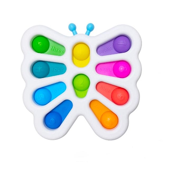 pop it butterfly fidget toy 6211 - Wacky Track