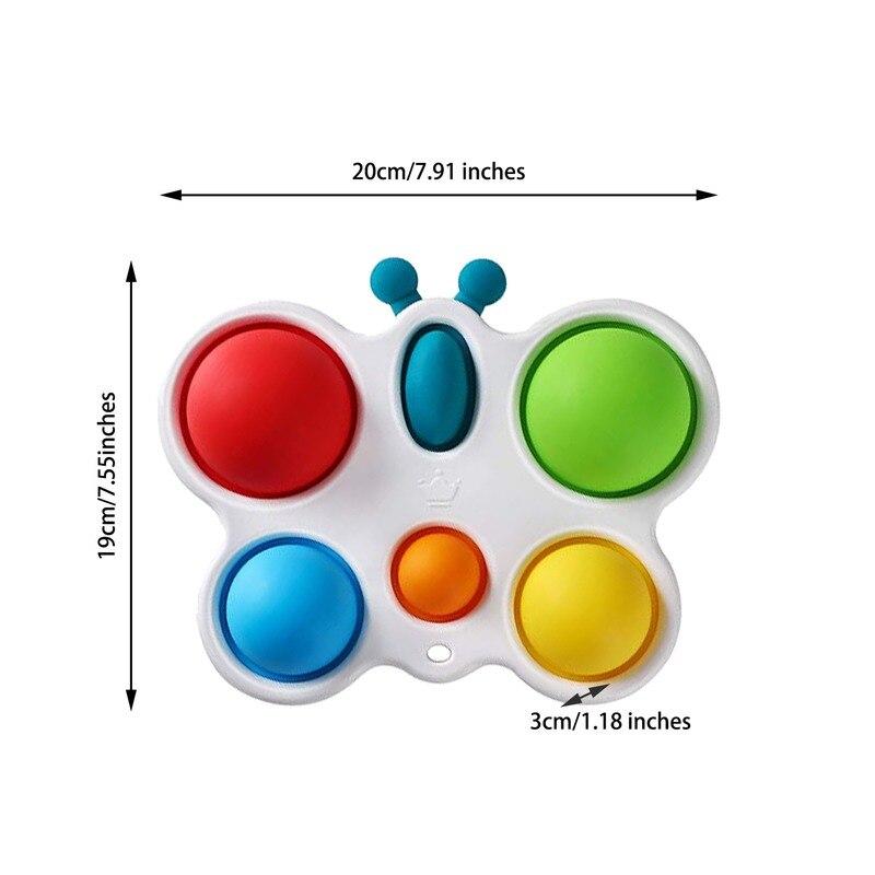 pop it butterfly fidget toy 8222 - Wacky Track