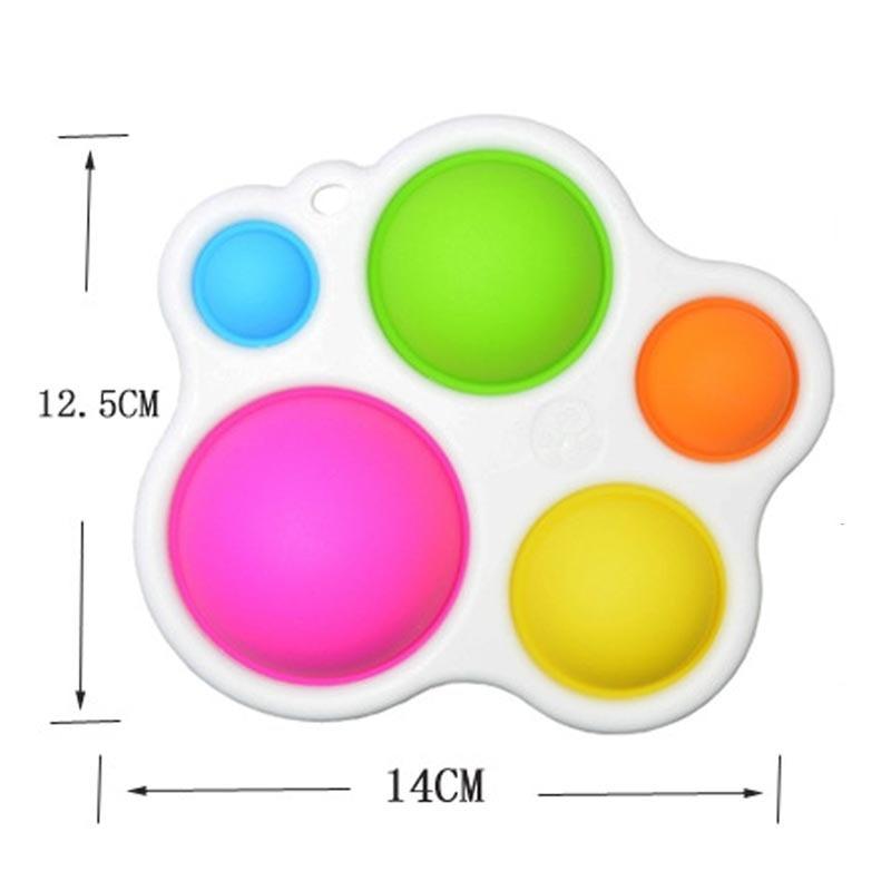 pop it butterfly fidget toy 8759 - Wacky Track