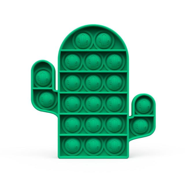 pop it cactus fidget toys 3374 - Wacky Track