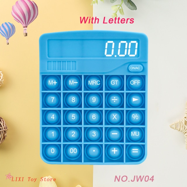 pop it calculator fidget toy 3022 - Wacky Track