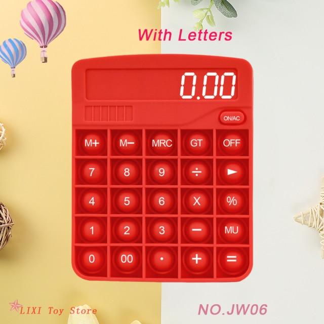 pop it calculator fidget toy 3206 - Wacky Track