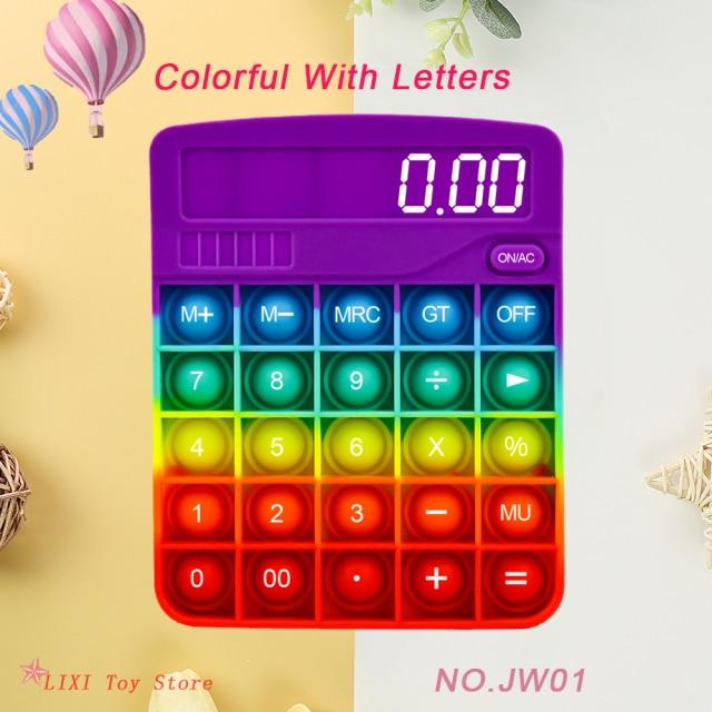 pop it calculator fidget toy 4790 - Wacky Track