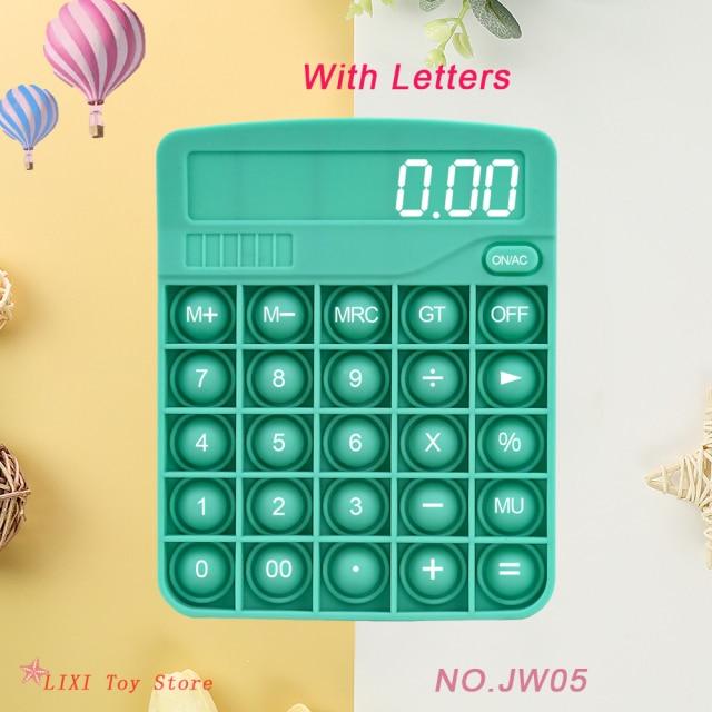 pop it calculator fidget toy 5978 - Wacky Track