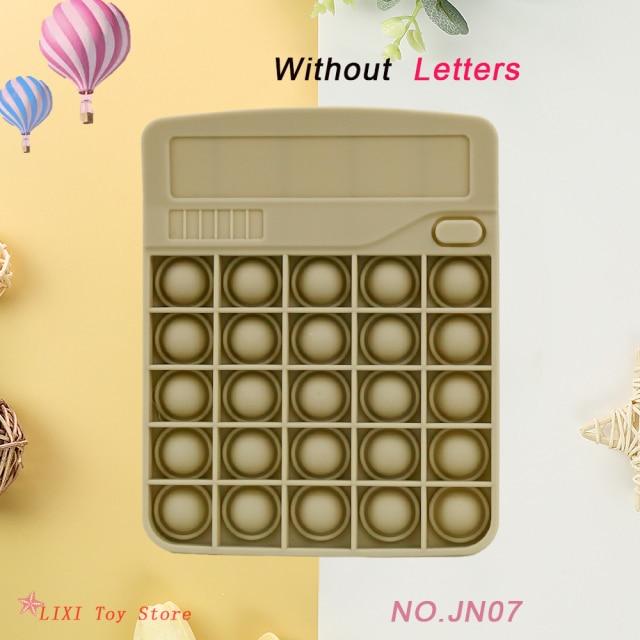 pop it calculator fidget toy 7861 - Wacky Track