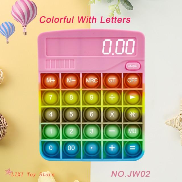pop it calculator fidget toy 8110 - Wacky Track