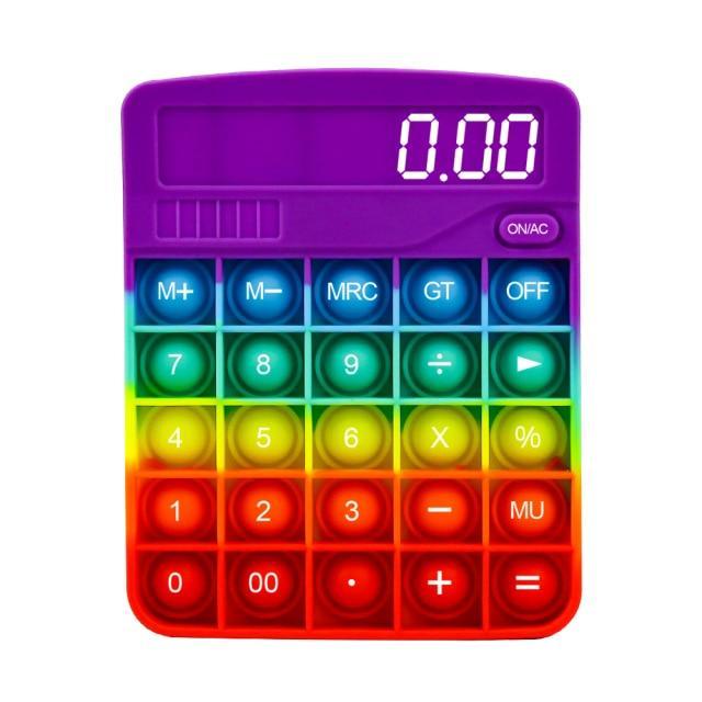 pop it calculator fidget toy 8414 - Wacky Track