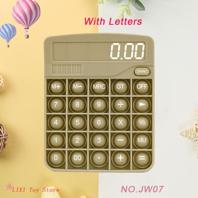 pop it calculator fidget toy 8711 - Wacky Track