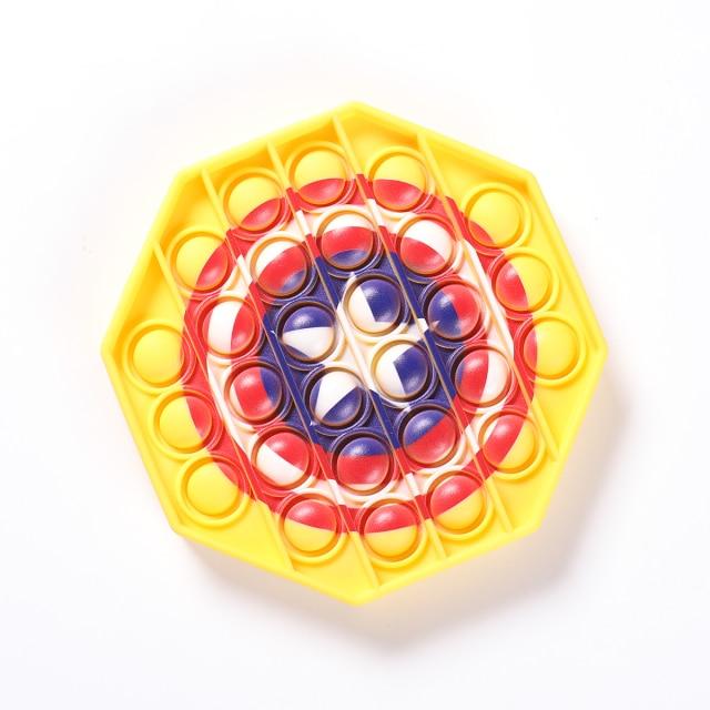 pop it captain america shield fidget toy 3513 - Wacky Track