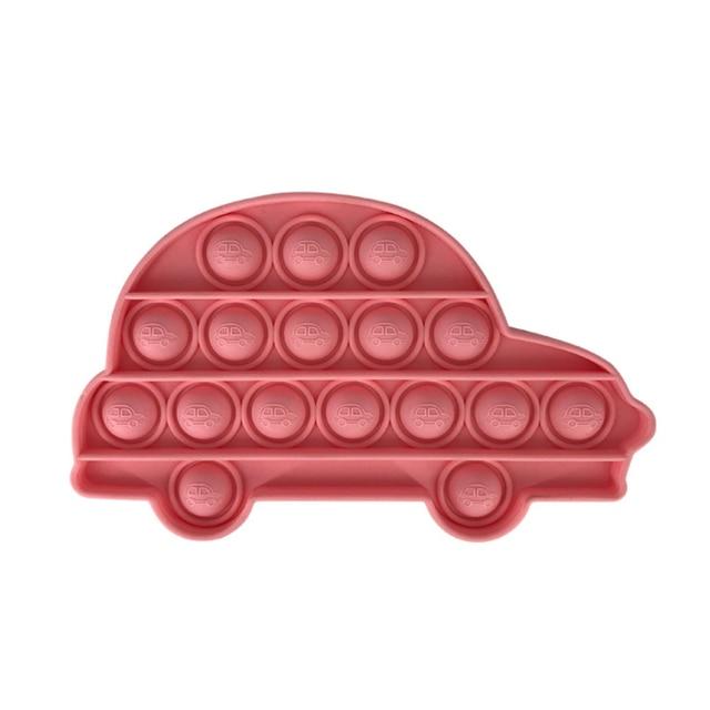 pop it car shape fidget toys 3116 - Wacky Track