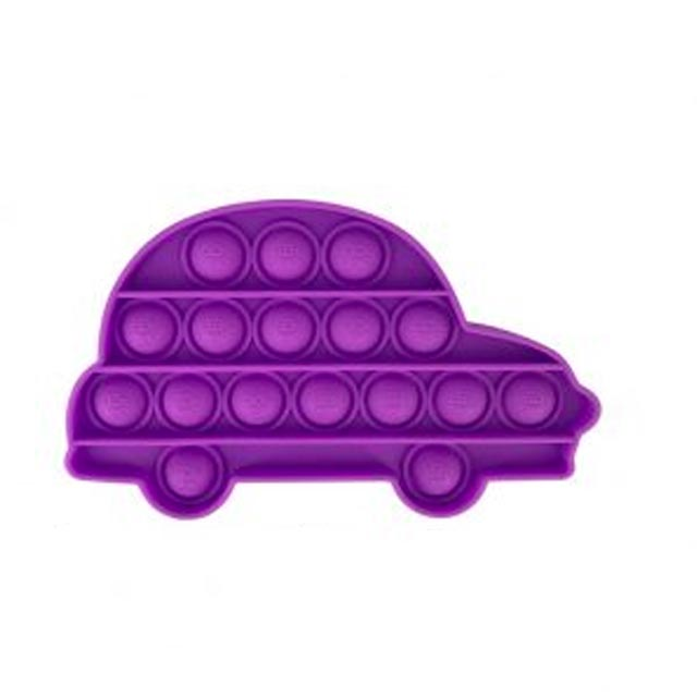 pop it car shape fidget toys 5957 - Wacky Track