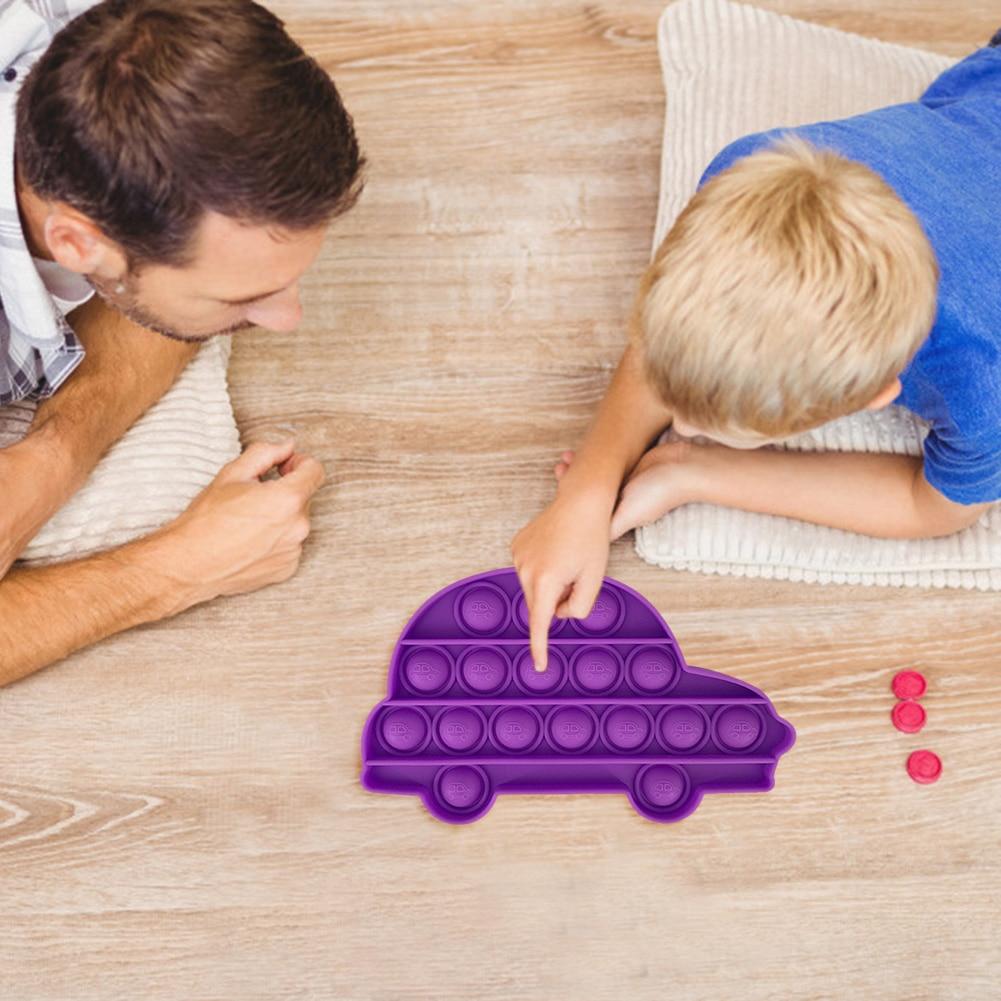 pop it car shape fidget toys 7180 - Wacky Track