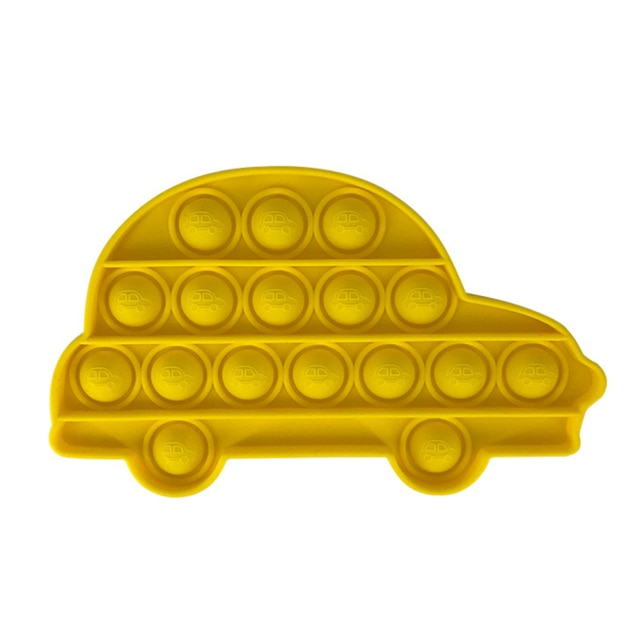 pop it car shape fidget toys 8843 - Wacky Track