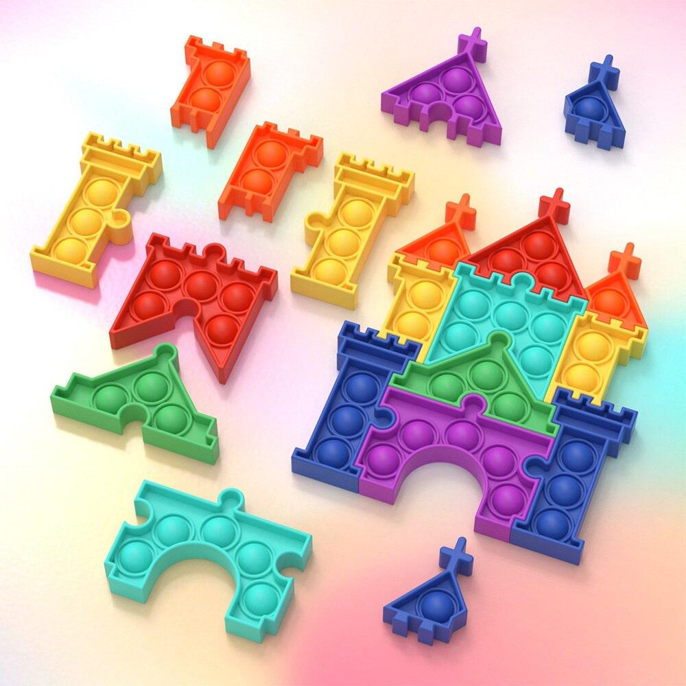 pop it castle fidget toy 1278 - Wacky Track
