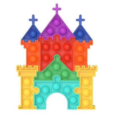 pop it castle fidget toy 2193 - Wacky Track