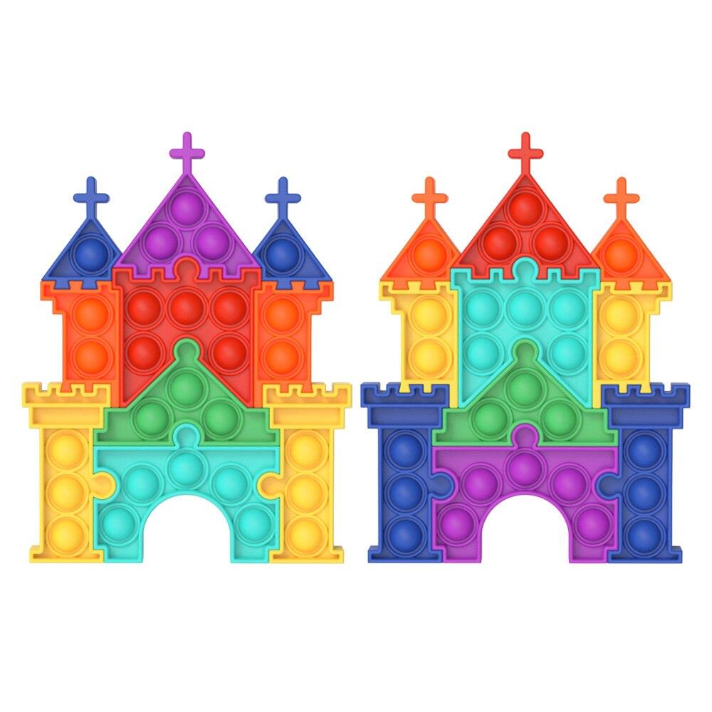 pop it castle fidget toy 3069 - Wacky Track