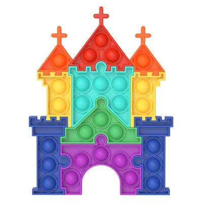 pop it castle fidget toy 3699 - Wacky Track