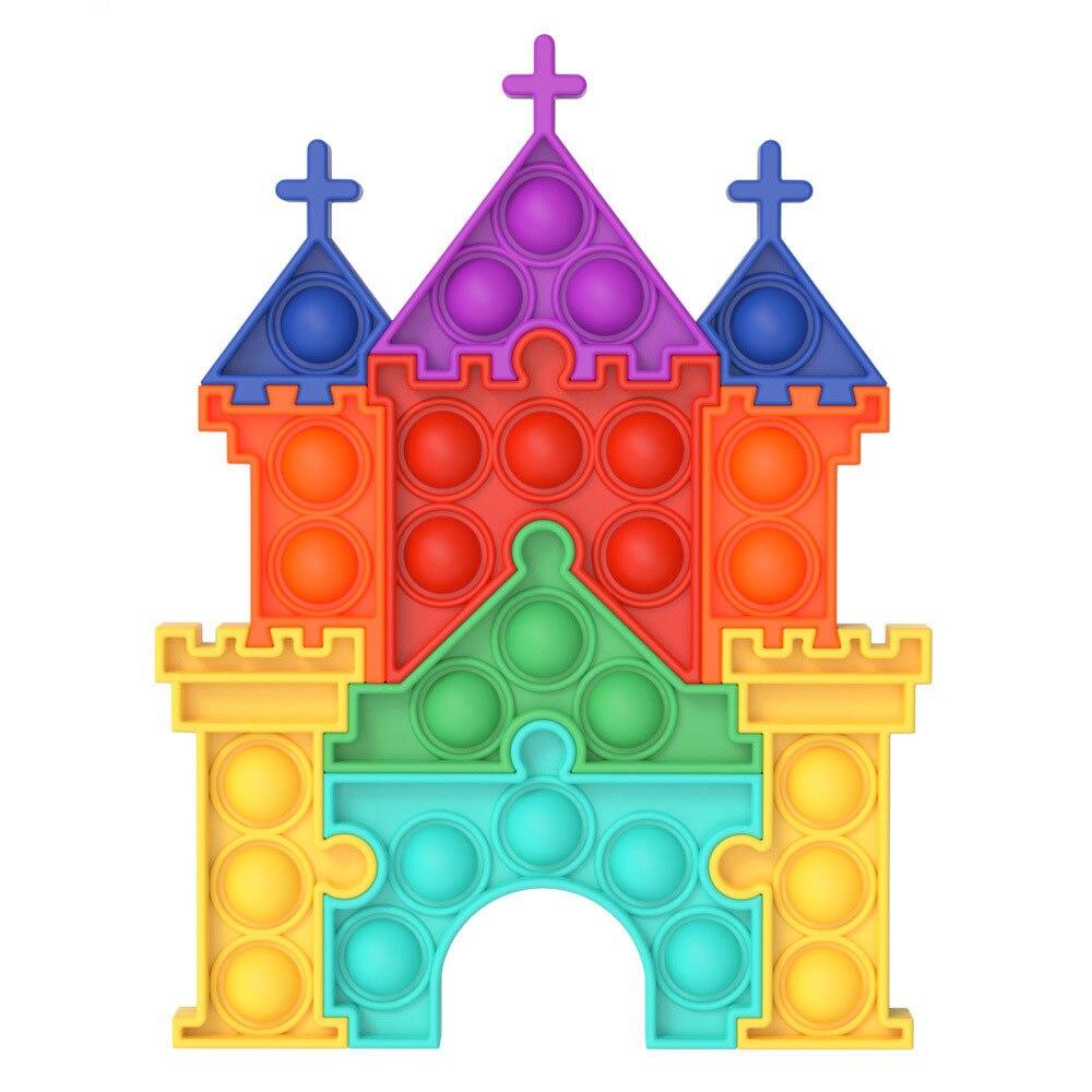 pop it castle fidget toy 4103 - Wacky Track