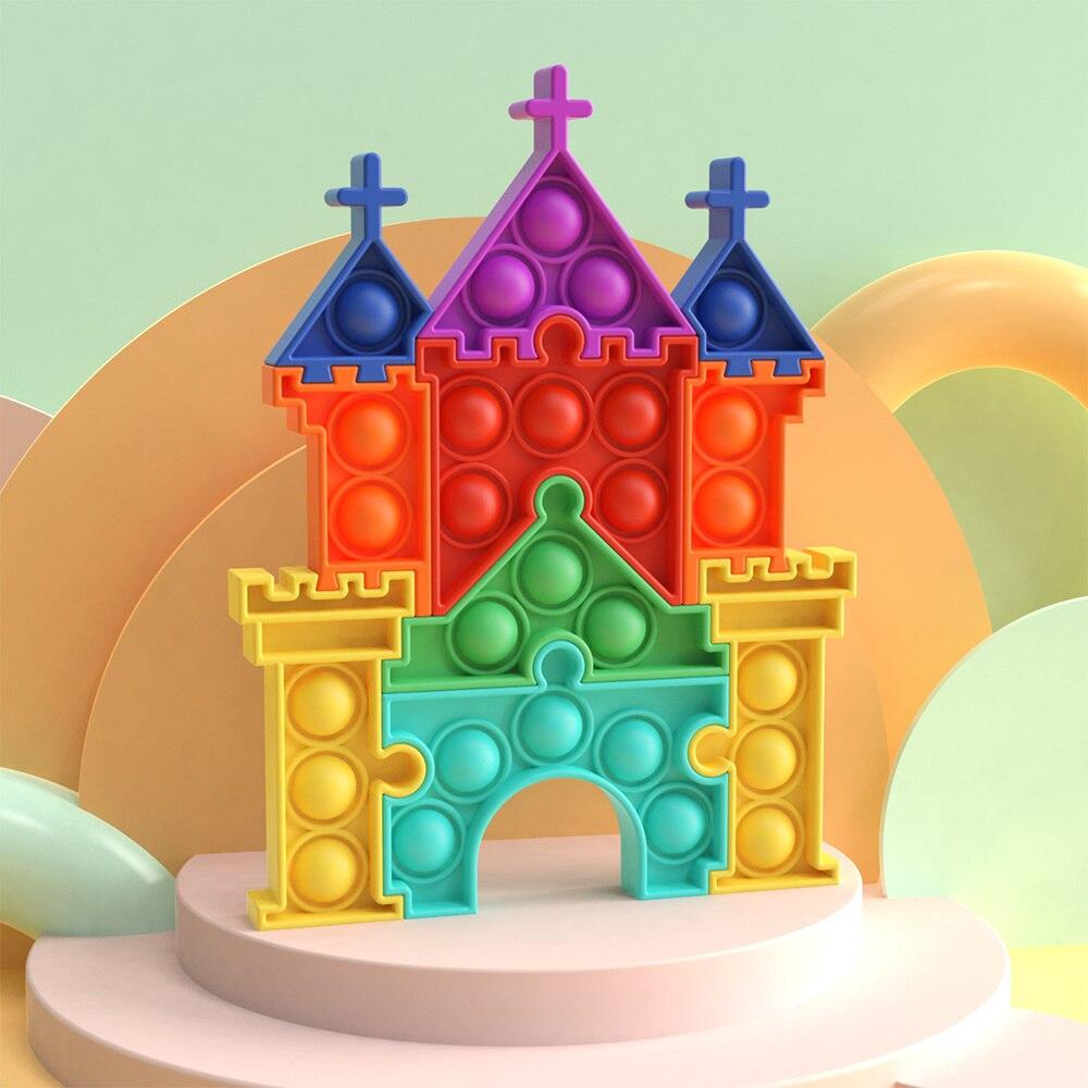 pop it castle fidget toy 8773 - Wacky Track