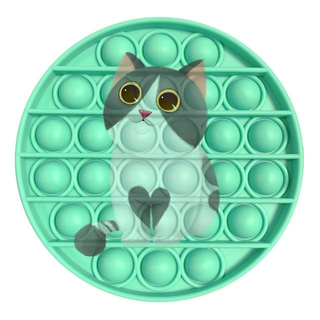 pop it cat image fidget toy 2305 - Wacky Track