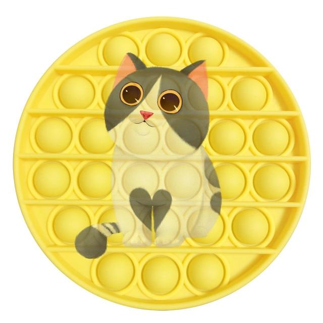 pop it cat image fidget toy 2564 - Wacky Track