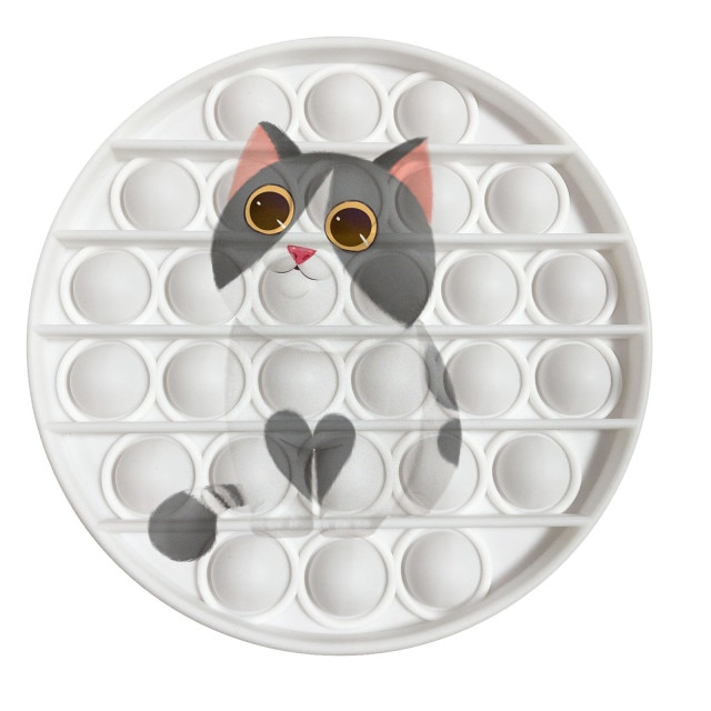 pop it cat image fidget toy 5581 - Wacky Track