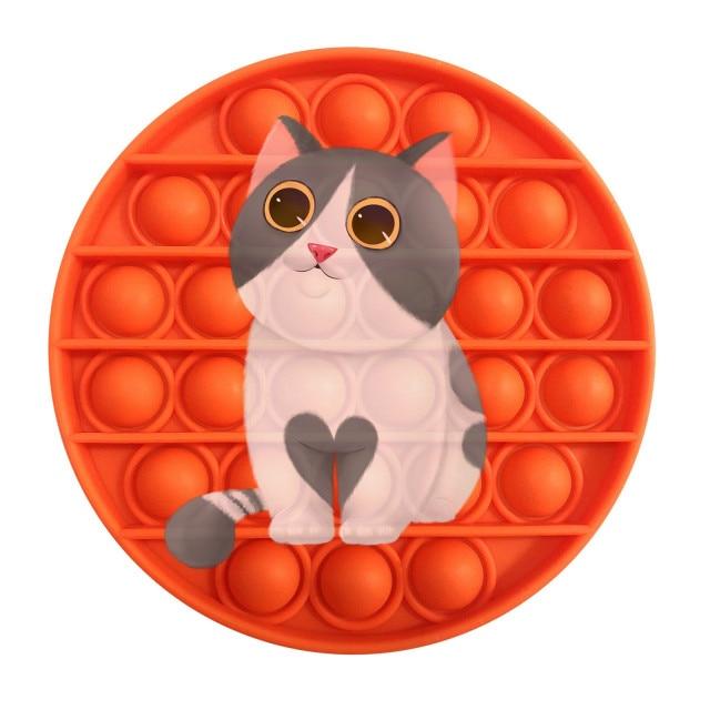 pop it cat image fidget toy 5835 - Wacky Track