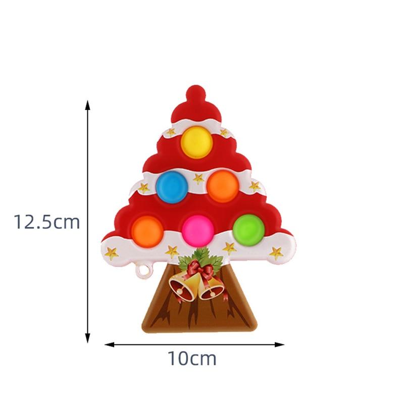 pop it christmas tree fidget toy 2266 - Wacky Track