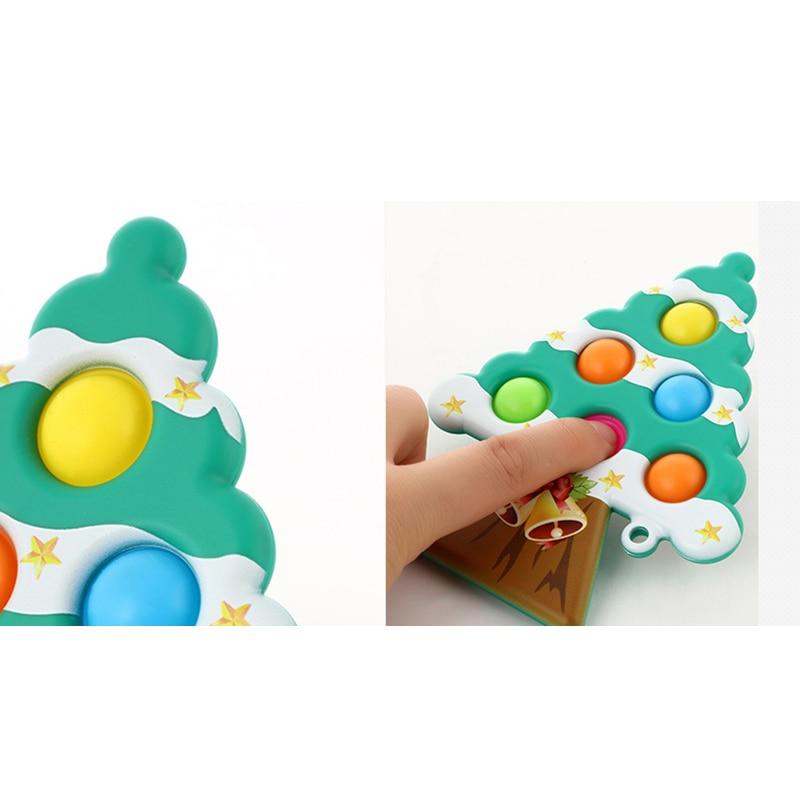pop it christmas tree fidget toy 5521 - Wacky Track