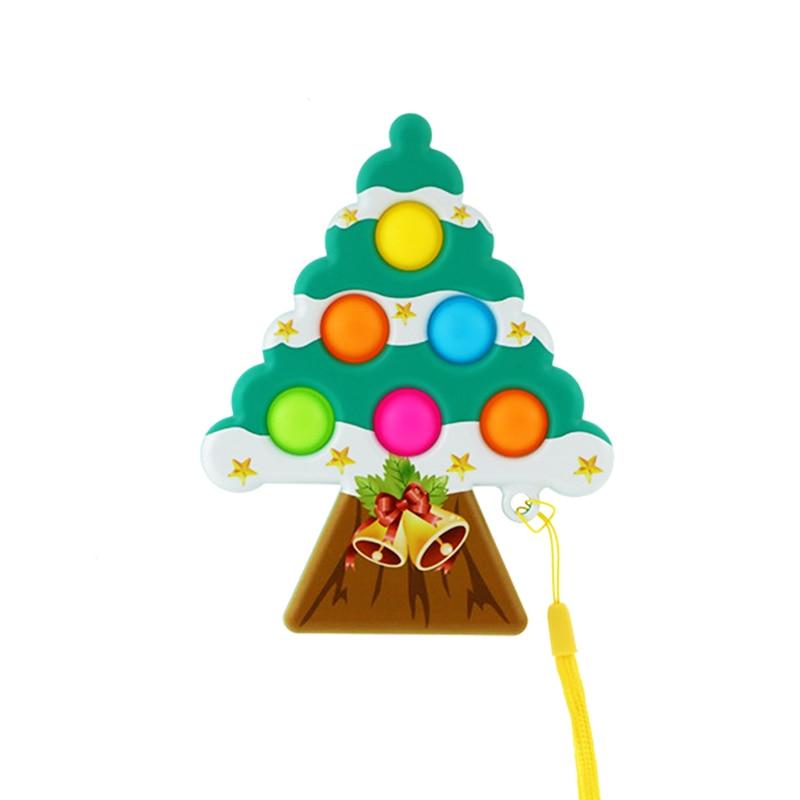 pop it christmas tree fidget toy 6469 - Wacky Track
