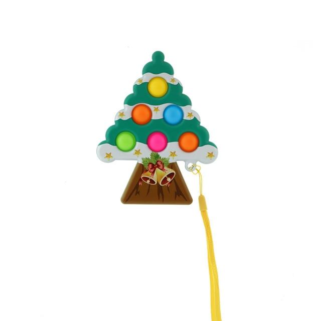 pop it christmas tree fidget toy 6478 - Wacky Track