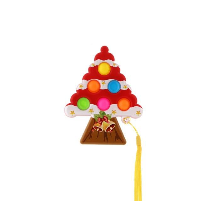 pop it christmas tree fidget toy 6665 - Wacky Track