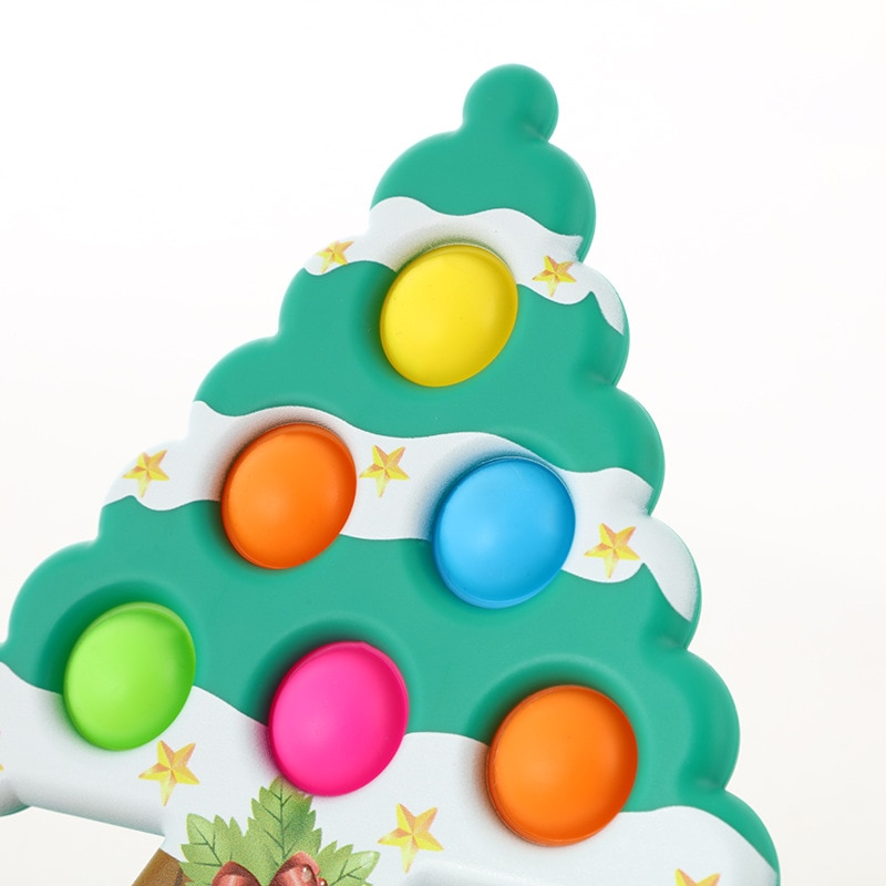 pop it christmas tree fidget toy 8996 - Wacky Track